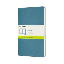 Moleskine Moleskine Cahier Collection Large Softcover Journal Brisk Blue