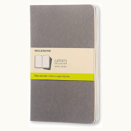 Moleskine Moleskine Cahier Collection Large Softcover Journal Pebble Grey