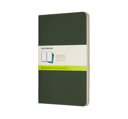 Moleskine Moleskine Cahier Collection Large Softcover Journal Myrtle Green