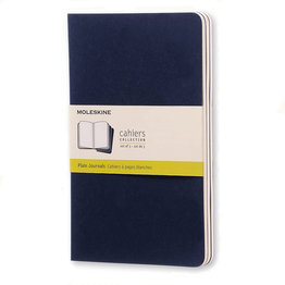Moleskine Moleskine Cahier Collection Large Softcover Journal Indigo Blue