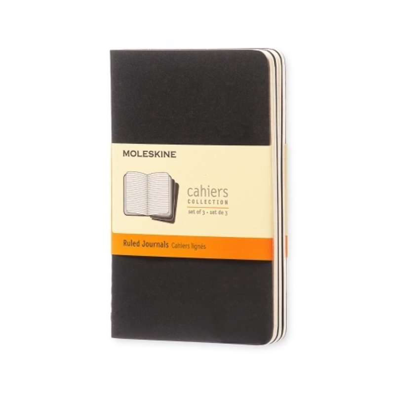 Moleskine Moleskine Cahier Softcover X-Large Journal Black