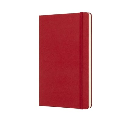 Moleskine Moleskine Classic Colored Softcover Large Notebook Red
