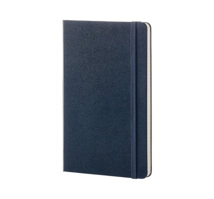 Moleskine Moleskine Classic Colored Softcover Large Notebook Sapphire Blue