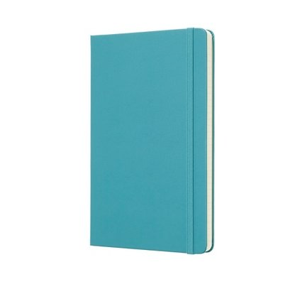Moleskine Moleskine Classic Colored Softcover Large Notebook Reef Blue