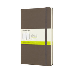Moleskine Moleskine Classic Colored Softcover Large Notebook Earth Brown