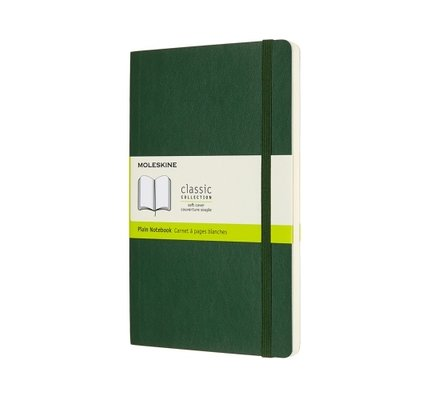 Moleskine Moleskine Classic Colored Pocket Softcover Notebook Myrtle Green
