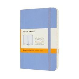 Moleskine Moleskine Classic Colored Pocket Softcover Notebook Hydrangea Blue