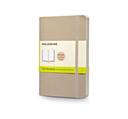 Moleskine Moleskine Classic Colored Pocket Softcover Notebook Khaki Beige