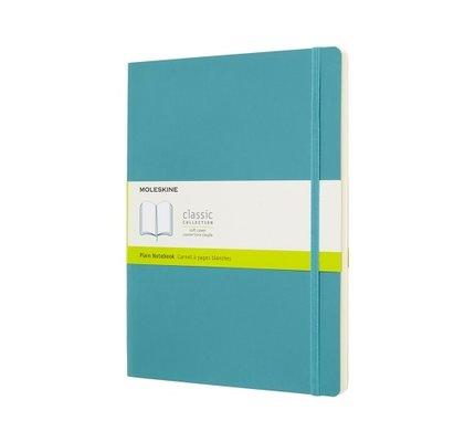 Moleskine Moleskine Classic Colored X-Large Hardcover Notebook Reef Blue