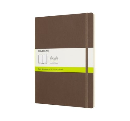 Moleskine Moleskine Classic Colored X-Large Hardcover Notebook Brown