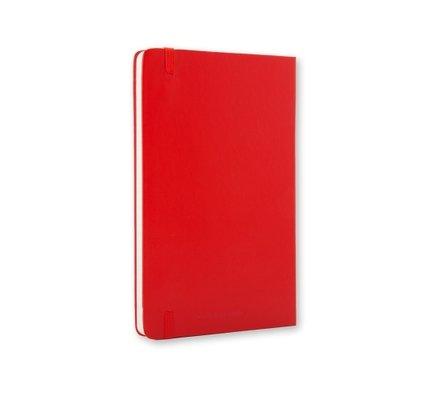 Moleskine Moleskine Classic Colored Pocket Hardcover Notebook Red