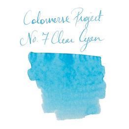 Colorverse Colorverse Project No. 007 Clear Cyan 65ml Bottled Ink