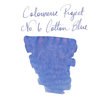 Colorverse Colorverse Project No. 006 Cotton Blue 65ml Bottled Ink