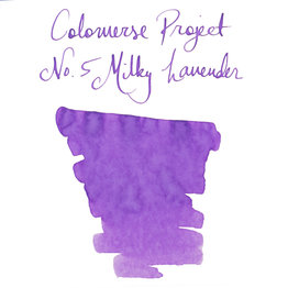 Colorverse Colorverse Project No. 005 Milky Lavender 65ml Bottled Ink