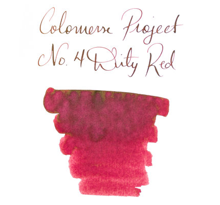 Colorverse Colorverse Project No. 004 Dirty Red 65ml Bottled Ink