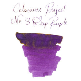 Colorverse Colorverse Project No. 003 Deep Purple 65ml Bottled Ink