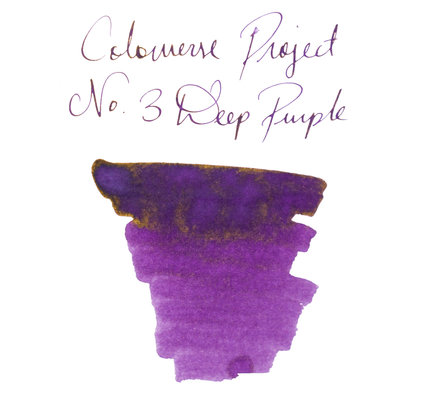 Colorverse Colorverse Project No. 003 Deep Purple 65ml Bottled Ink