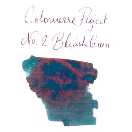 Colorverse Colorverse Project No. 002 Bluish Green 65ml Bottled Ink