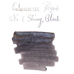 Colorverse Colorverse Project No. 001 Shiny Black Glistening 65ml Bottled Ink