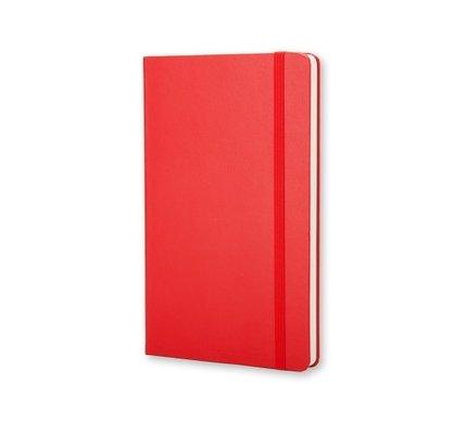 Moleskine Moleskine Classic Colored Large Hardcover Notebook Scarlet Red