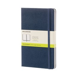 Moleskine Moleskine Classic Colored Large Hardcover Notebook Sapphire Blue