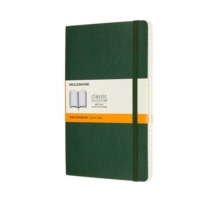Moleskine Moleskine Classic Colored Large Hardcover Notebook Myrtle Green