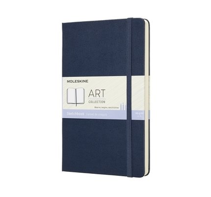Moleskine Moleskine Art Sketchbook Large Saphire Blue