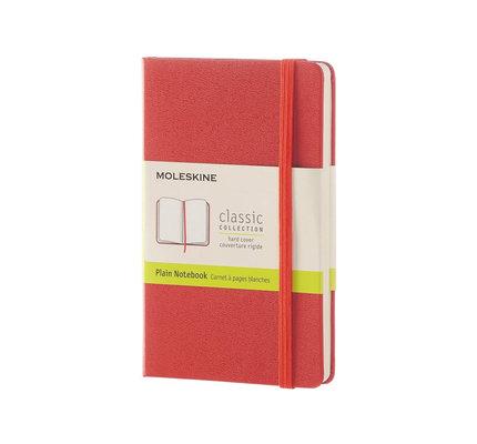 Moleskine Moleskine Classic Colored Pocket Hardcover Notebook Plain Burnt Orange
