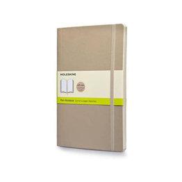 Moleskine Moleskine Classic Colored Softcover Large Notebook Khaki Beige