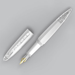 Diplomat Diplomat Limited Edition ZEPP Chrome Fountain Pen