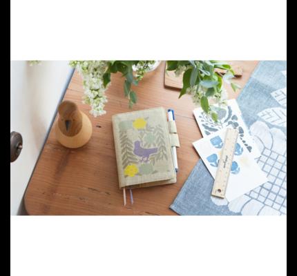 Hobonichi Hobonichi 2021 A6 Techo Makoto Kagoshima: Bird, Flower, Willow