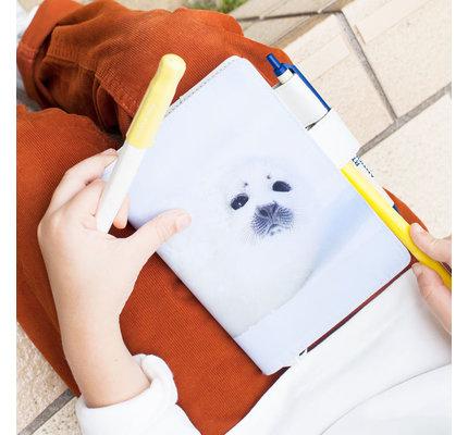 Hobonichi Hobonichi A6 Techo 2021 Michio Hoshino: Harp Seal Pup