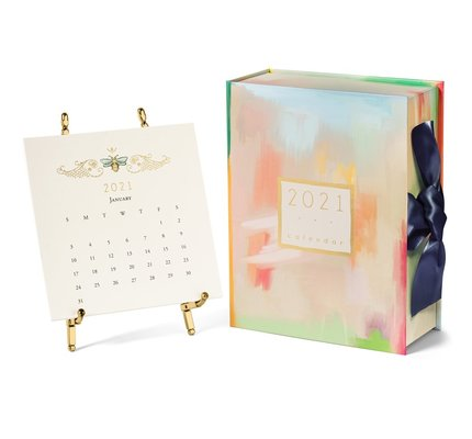 Karen Adams Gift Box with Gold Easel 2021
