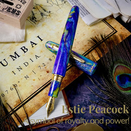 Esterbrook Esterbrook Estie Sparkle Peacock Oversized Fountain Pen