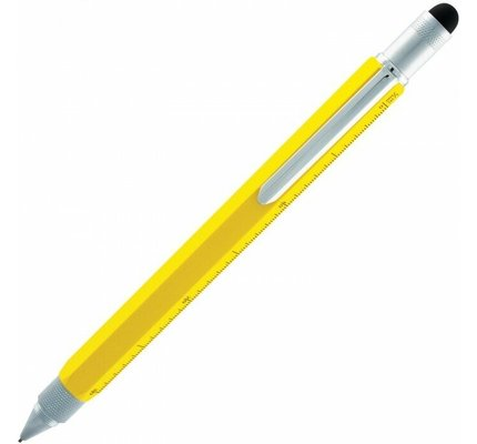 Monteverde Monteverde MV35240 One Touch Tool Yellow Mechanical Pencil .9mm