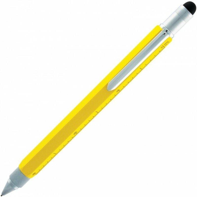 Monteverde Monteverde MV35240 One Touch Tool Yellow Mechanical Pencil .9mm