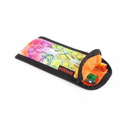 Rickshaw 2-Pen Coozy Inktopus Orange Pen Sleeve