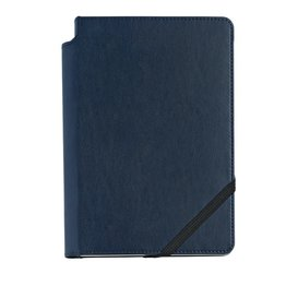 Cross Cross Medium Dotted Journal with Midnight Blue Cover