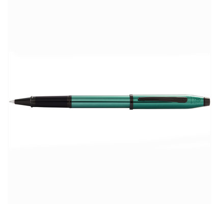 Cross Cross Century II Translucent Green Lacquer Rollerball Pen with Polished Black PVD Appointments