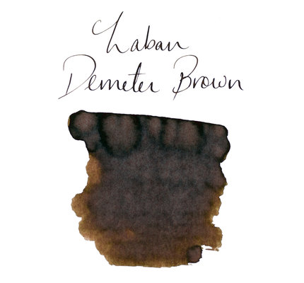 Laban Laban Demeter Brown Bottled Ink - 50ml