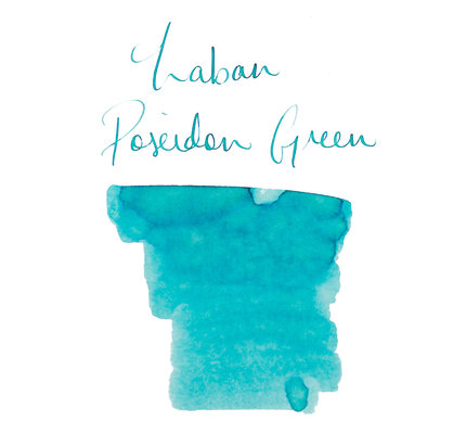 Laban Laban Poseidon Green Bottled Ink - 50ml