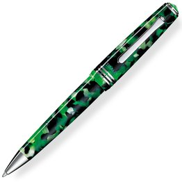 Tibaldi N60 Emerald Green with Palladium Trim Ballpoint