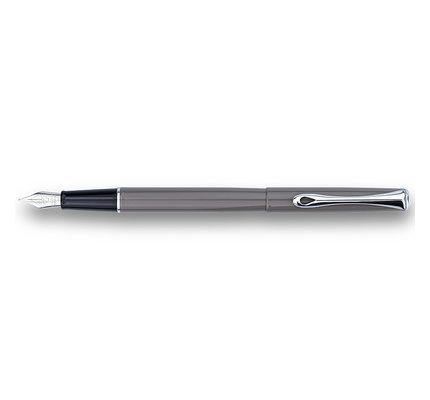 Diplomat Diplomat Traveller Taupe Grey Fountain Pen