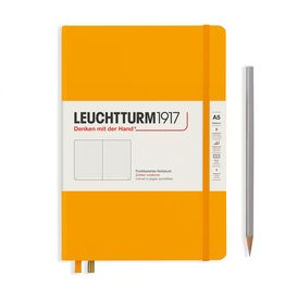 Leuchtturm1917 Leuchtturm1917 A5 Medium Rising Colors Hardcover Notebook Rising Sun Dotted