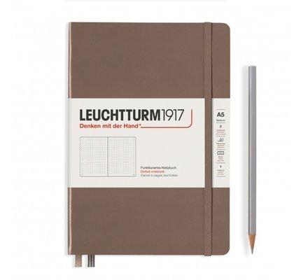 Leuchtturm1917 Leuchtturm1917 A5 Medium Rising Colors Hardcover Notebook Warm Earth Dotted