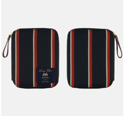 Hobonichi Hobonichi A6 Techo 2021 Abraham Moon & Sons: Blazer Strips (Red x Navy)
