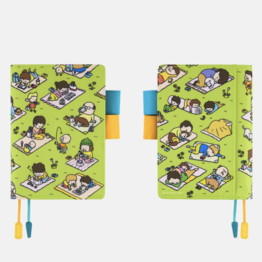 Hobonichi Hobonichi A6 Techo 2021 Shinsuke Yoshitake: A Perfect Day for Picnic Blankets