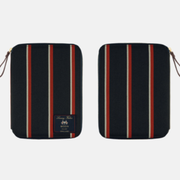Hobonichi Hobonichi A5 Cousin 2021 Abraham Moon & Sons: Blazer Stripes (Red x Navy)
