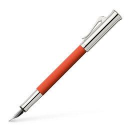 Faber-Castell Graf von Faber-Castell Guilloche Burned Orange Fountain Pen