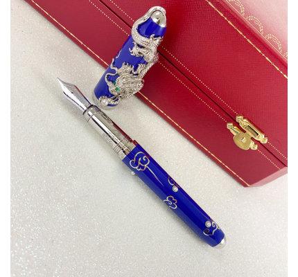 Pre-Owned Cartier Limited Edition Prestige Dragon Fountain Pen Medium